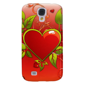 Red Heart iPhone 3G Case Samsung Galaxy S4 Cases