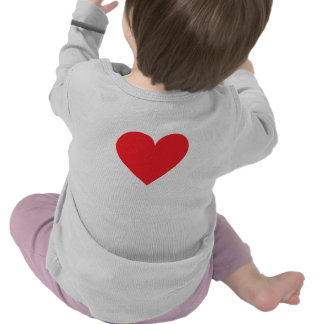 Red Heart - Love Card Suit Anatomy T Shirt