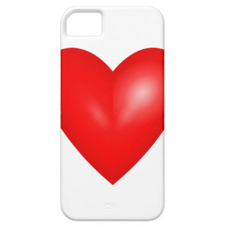 Red heart love iPhone 5 case