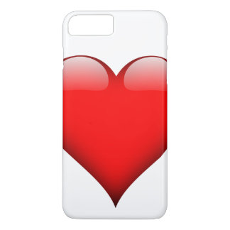 Red Heart Love iPhone 7 Plus Case