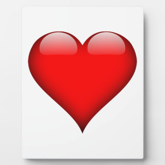 Red Heart Love Plaque