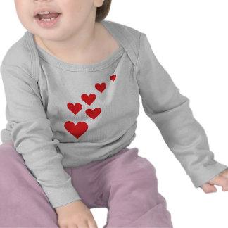 Red Heart Love Rain - Valentine�s Day Shirt
