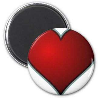 Red Heart Magnet