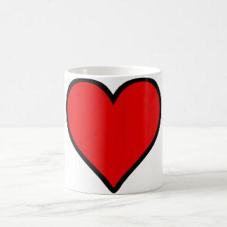 Red Heart Mugs