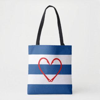 RED HEART NAUTICAL BAG