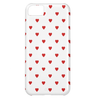Red Heart Pattern iPhone 5C Case