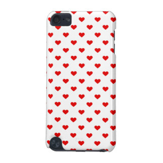 Red Heart Pattern Love iPod Touch (5th Generation) Cases