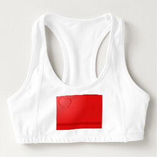 Red Heart Sports Bra