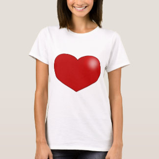 red_heart_t_shirt T-Shirt
