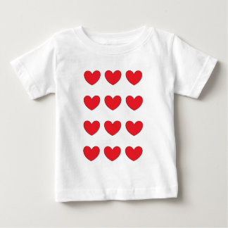 red heart tiled for hp baby T-Shirt