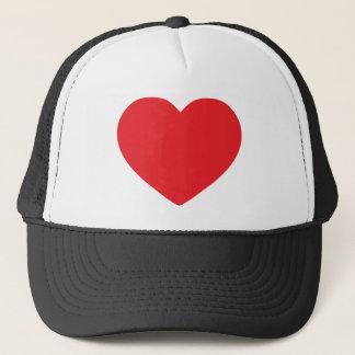Red-heart Trucker Hat