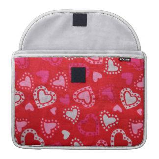 "Red Hearts 13"" MacBook sleeve Sleeve For MacBook Pro"