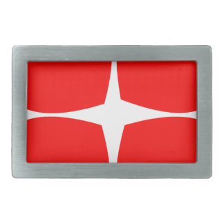 Red Hearts Belt Buckle