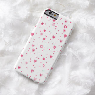 Red Hearts Case-Mate Barely There iPhone 6 Case