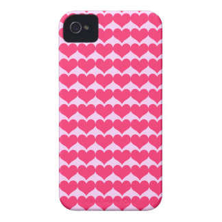 Red Hearts iPhone 4/4S Case Case-mate Iphone 4
