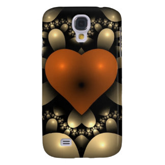 Red hearts show you are in love samsung galaxy s4 case
