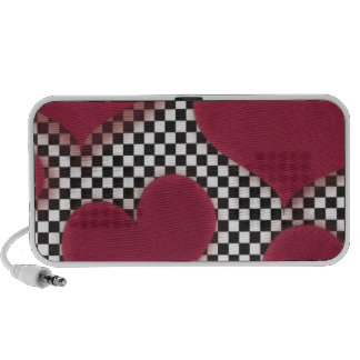 Red Hearts Travel Speakers