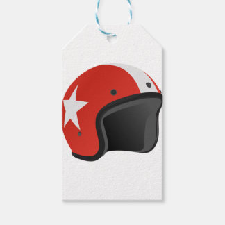 Red Helmet Gift Tags