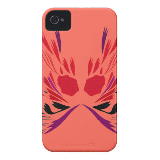 Red henna Tattoo ethno iPhone 4 Covers