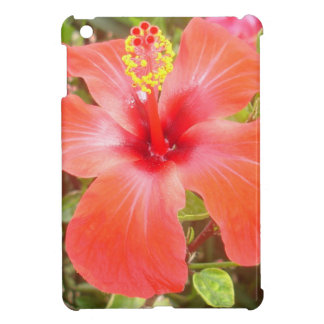 Red Hibiscus iPad Mini Cases