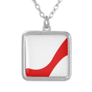 Red High Heel Pendants