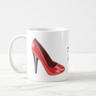 Red High Heel Shoe Coffee Mug