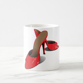 Red High Heeled Shoes Mug