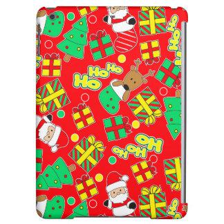 Red - Ho Ho Santa Case For iPad Air