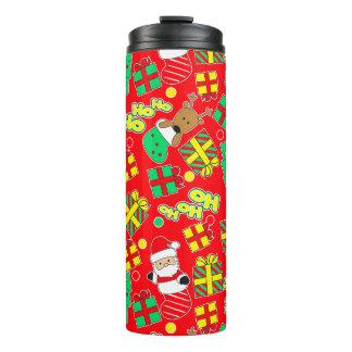Red - Ho Ho Santa Thermal Tumbler