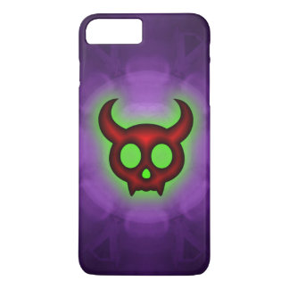 Red Horned Devil iPhone 7 Plus Case