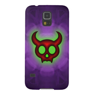 Red Horned Devil Samsung Galaxy S5 Case
