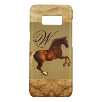 RED HORSE Parchment Monogram Case-Mate Samsung Galaxy S8 Case
