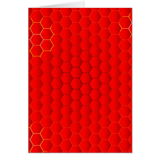 Red Hot Background Card