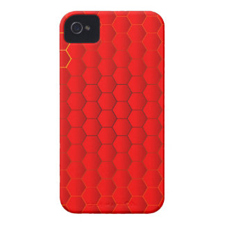 Red Hot Background iPhone 4 Cases