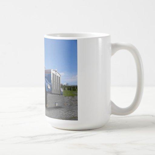 Red Hot & Blue Kenworth Mug