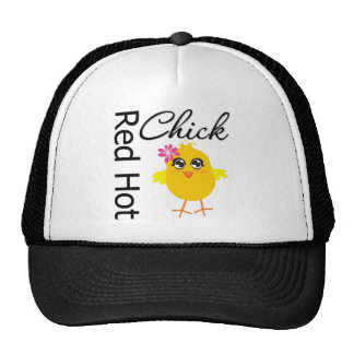 Red Hot Chick 1 Hats