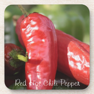 Red Hot Chile Pepper Drink Coaster