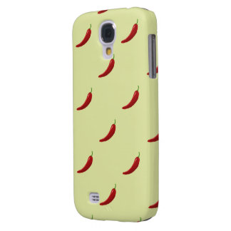 red hot chili pattern samsung galaxy S4 Samsung Galaxy S4 Covers