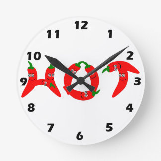 Red Hot Chili Pepper Wall Clock