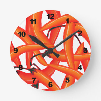 Red Hot Chili Peppers Round Clock