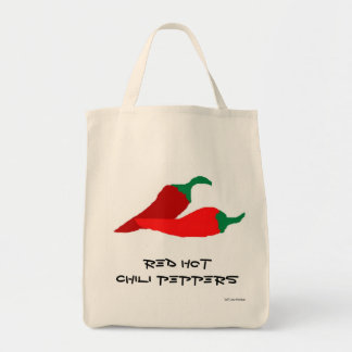 Red Hot Chili Peppers Grocery Bag