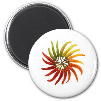 Red Hot Chili Peppers 6 Cm Round Magnet
