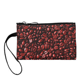 Red Hot Coffee Beans Coin Purse