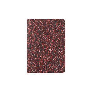 Red Hot Coffee Beans Passport Holder