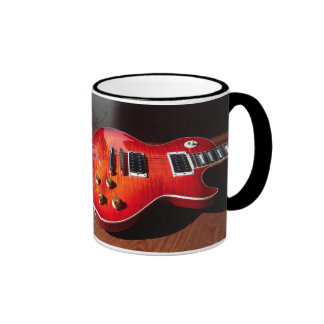 Red Hot Electric Guitar Mug