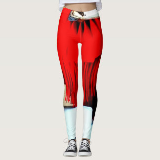 RED HOT FIRE PANTS