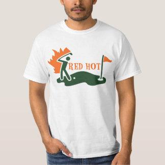 RED HOT Golfer T-Shirt