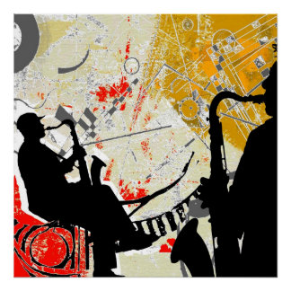 Red Hot Jazz Poster