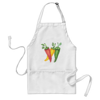 Red Hot Peppers Apron