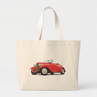 Red Hot Rod Tote Bags